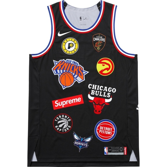 115a3319 Supreme Shirts | Nike Nba Teams Authentic Jersey Black | Poshmark